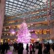 東京駅丸の内駅前広場からKITTEのクリスマスツリーへ