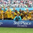 W杯3位決定戦  ベルギー対イングランド