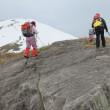 7 深入山(1,153m:安芸太田町)雪山登山  山頂が見えて来た