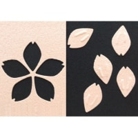 桜の花びら(サクラ&花びら)のエンボスパンチはデコップ・さくら花びら<shopWA・ON>