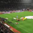初サッカー日本代表観戦