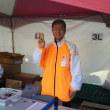 今日は熊本城マラソンのボランティアに行ってきました♪
