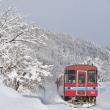 沿線雪風景1