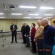 ❖【協会20回記念発表大会に向けて、国錦師範の出張ご指導を受ける。東京足立相撲甚句会。 林 太一