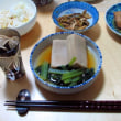 炭水化物ありの晩御飯、そして日本酒を切らしたけど
