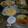 ロール白菜と小さなカニ爪フライ!栗ご飯のお供え・・・