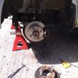 ブレーキ修理は終了