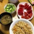 和歌山の親戚からの野菜到着。すぐに平らげる