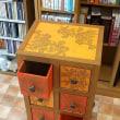 韓紙工芸作品 新作ご紹介「2018年展示会に向けて」(46)オレンジの収納ケース