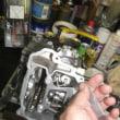50cc、、、4バルブヘッドの整備です。。。