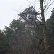 備中有漢常山城跡、(昔の画像)。