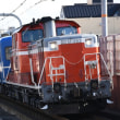 DD51 1193牽引網干ハンドル訓練列車を写す