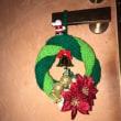 魔法の1本針のクリスマスリース
