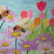 ミツバチの一枚画コンクール…