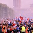 < 2018FIFAワールドカップ ロシア 決勝T 決勝>フランス、クロアチアの歓喜と無念 /W杯優勝、歓喜のパリ シャンゼリゼ通りでは暴徒化も
