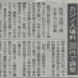 統合型リゾート施設(IR)カジノ法案に反対。