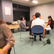 熱心な討議が進むコーチング研修