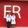 日赤医療センターの赤木雄先生と福井の寺澤先生