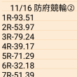 🚲 11/16 防府競輪②