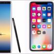 顔認証機能対応iPhone X Galaxy Note8どっち買う?スペック・新機能・価格・感想では2017 iPhone X Galaxy Note8徹底比較!