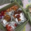 仙元山でトモちゃんのお弁当