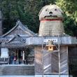 安志(加茂神社)で2018年の干支(戌)の置物を設置 (安富町) 2017.12.02