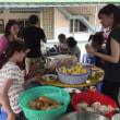 カンボジアチーム。BBQ