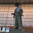 東京国際フォーラムに太田道灌像と江戸城天守模型を見に行く