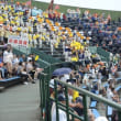 高校野球の応援に行きました。暑かった~!