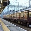 阪急 塚口(2018.4.7) 7117 直通特急 高速神戸行き あたごHM