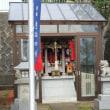 祭礼の神社にてお守りを頂く~白山神社~