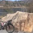 21日は、丹生川ダム周回56kmへ。お昼は暖かかった!!