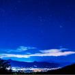 19/Nov オリオン座と富士山、ジョビコとサツキ