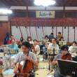 先日のオーケストラ千里山の練習(8月13日)