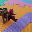ダイソーで見つけた『トリケラトプス』