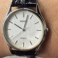 今日の腕時計 12/15 SEIKO DOLCE 8N41-6060