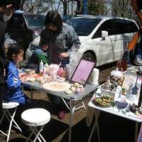 4月のマーケット会場風景