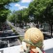 ちょこっと東京旅。建設中の国立競技場。青山、表参道のお散歩