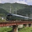 円山川を渡る