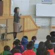 12月の全校集会が終わりました。
