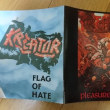 クリーター(クリエイター) 「Pleasure To Kill 」「Flag Of Hate」