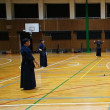 長正館自主剣道稽古(矢田中学校、8月15日)