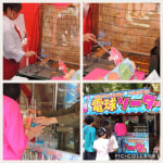 電球ソーダと揚げアイス 広島フラワーフェスティバルで