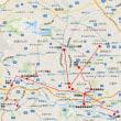 三億円事件 盗難車両投棄の関係図(1)