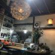 軽井沢の食堂の照明器具がこってる!