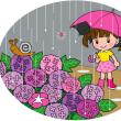傘おばけとユウレイ花…