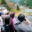 神子畑選鉱場跡に観光客急増!!