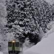 北信妻有冬景色