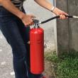 消火器を使ってみました