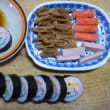 #朝飯巻き寿司